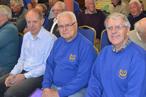 Chapel Male Voice Choir members in rehearsals